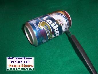 Reciclaje de latas de aluminio :: Cómo reciclar envases de gaseosas