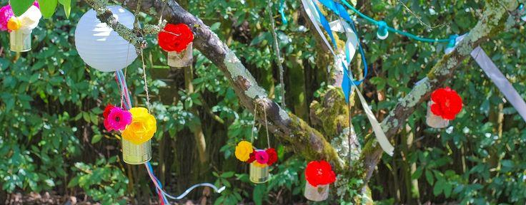Mariage original : et si on décorait les arbres ?