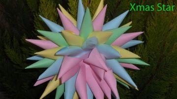 Как сделать из бумаги - Новогоднее украшение из бумаги: Christmas Star http://video-kid.com/10905-kak-sdelat-iz-bumagi-novogodnee-ukrashenie-iz-bumagi-christmas-star.html  Новогоднее украшение из бумаги. Вам понадобятся 7 листов цветной бумаги (или журнальных страниц), 2 кусочка ластика, иголка и нитка. Украшение подойдет и для любого другого детского праздника, например дня рождения. Если ваш ребенок еще слишком мал для того, чтобы делать бумажные конусы, вы можете поручить ему…