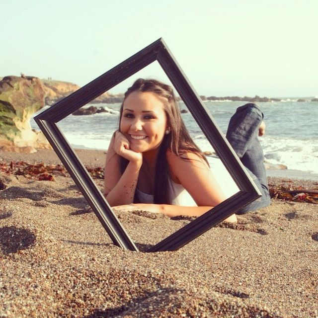 Senior Picture at the beach :)
