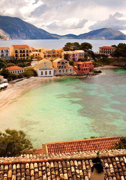 Kefalonia Island, Assos Village,Greece.