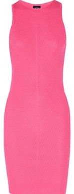 McQ pink neon dress, net-a-porter.com  #neon #fashion #pink
