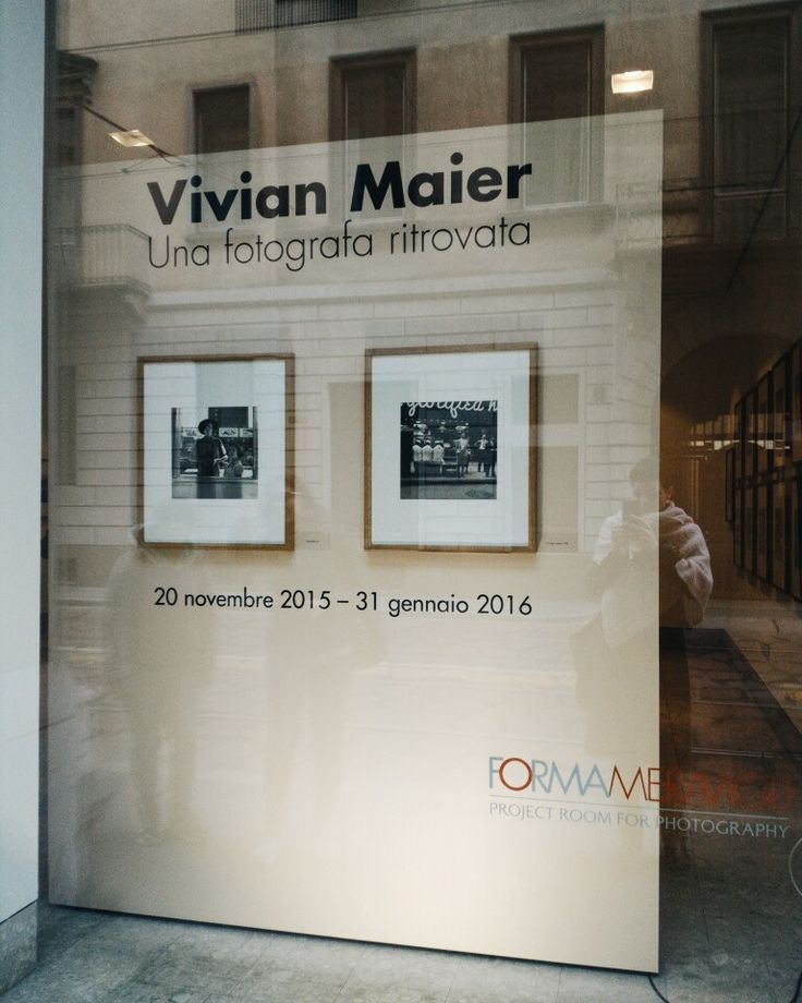 Vivian Maier - Una fotografa ritrovata Fondazione Forma Meravigli   Milano  #vivianmaier #milano #fotografia