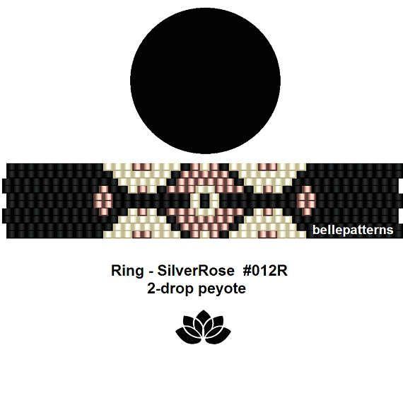 peyote ring patternPDF-Download 012R-2d 2 drop peyote