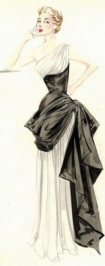 Gres, Bergdorf Goodman Archives.  http://www.pinterest.com/adisavoiaditrev/