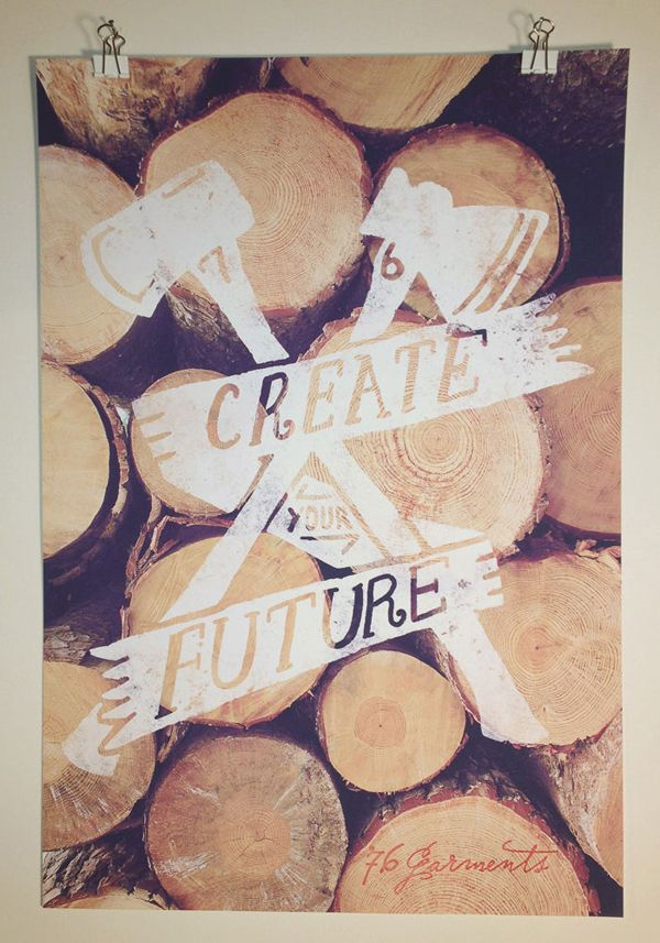 create your futureInspiration, Quote, Future, Art Prints, Graphics Design, Typography, Posters, Create, Logo Types
