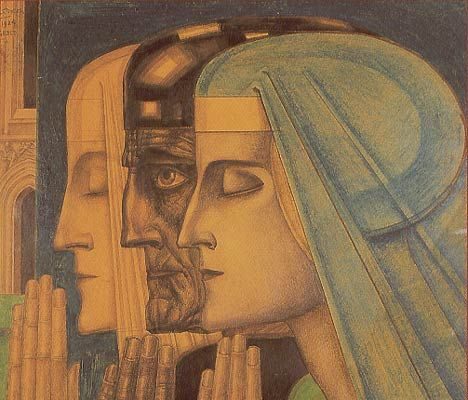 Jan Toorop, Het gebed / The prayer - 1924