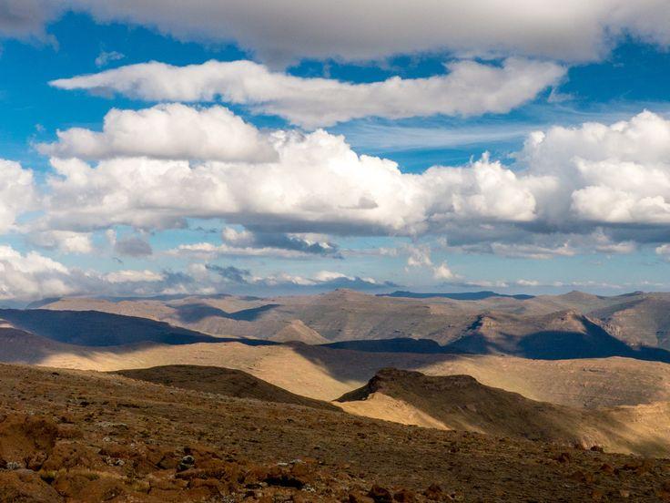 View from Mafadi, Lesotho
