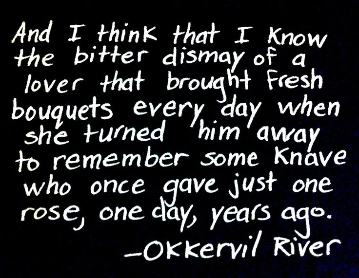 Sunday Snippet - Okkervil River song lyrics music quote song quote lyrics