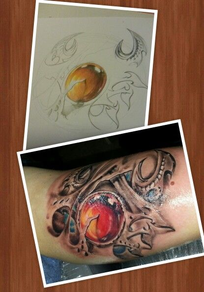Cancer tattoo