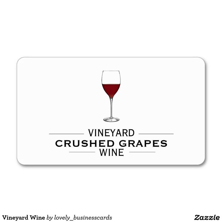16 best Wine Business Cards images on Pinterest | Business cards ...