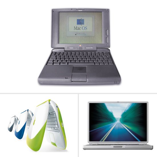Apple laptops through the years — remember the fruit-colored clamshells?!