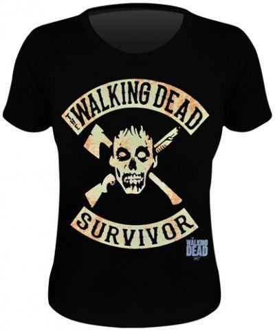 Tee Shirt Femme THE WALKING DEAD - You Are a Survivor