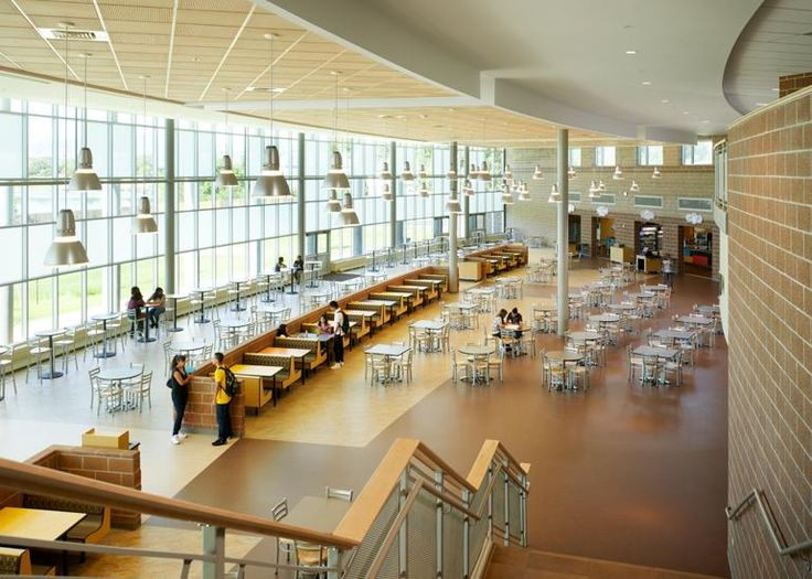 Image Gallery High School Cafeteria