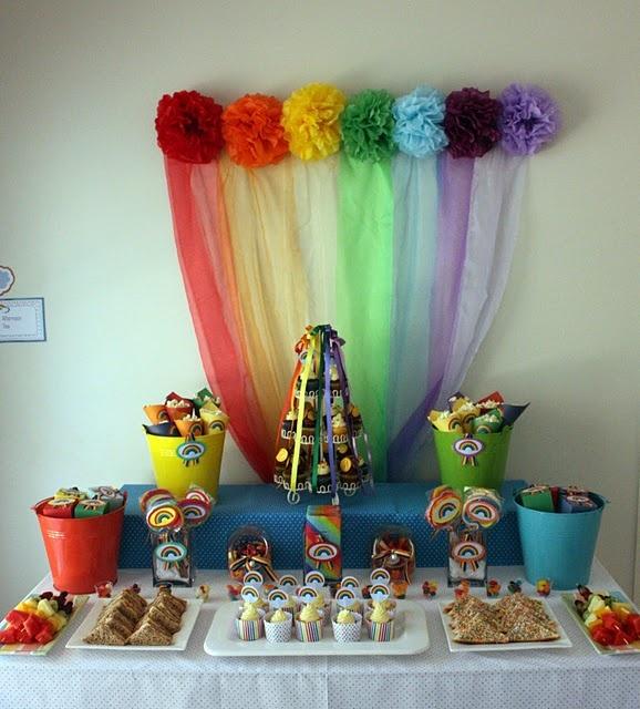 Fabulous rainbow party