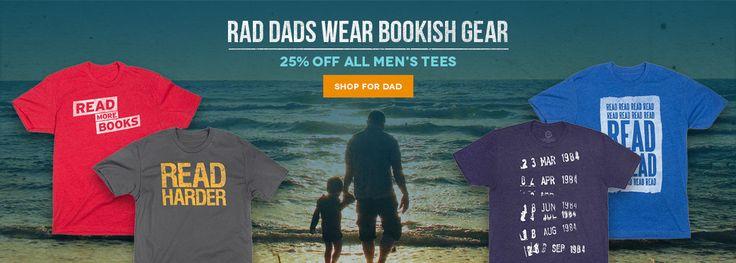Men's Book Tees – Book Riot Store