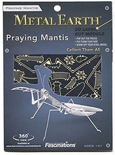 Fascinations Metal Earth 3D Metal Model Kits, Praying Mantis – The Toy Shop