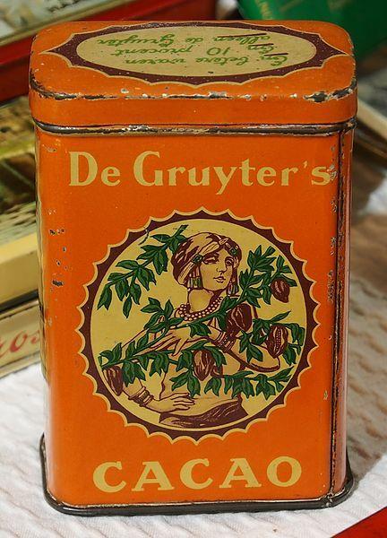 De Gruyters Cacao blik.