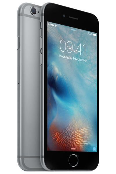 Side view of the space grey iPhone 6S Compare the cheapest deals today at PhonesLTD.co.uk