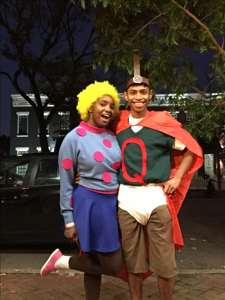 Patti Mayonnaise and Quailman cosplay from 90's tv show ... Quailman And Patty Mayonnaise