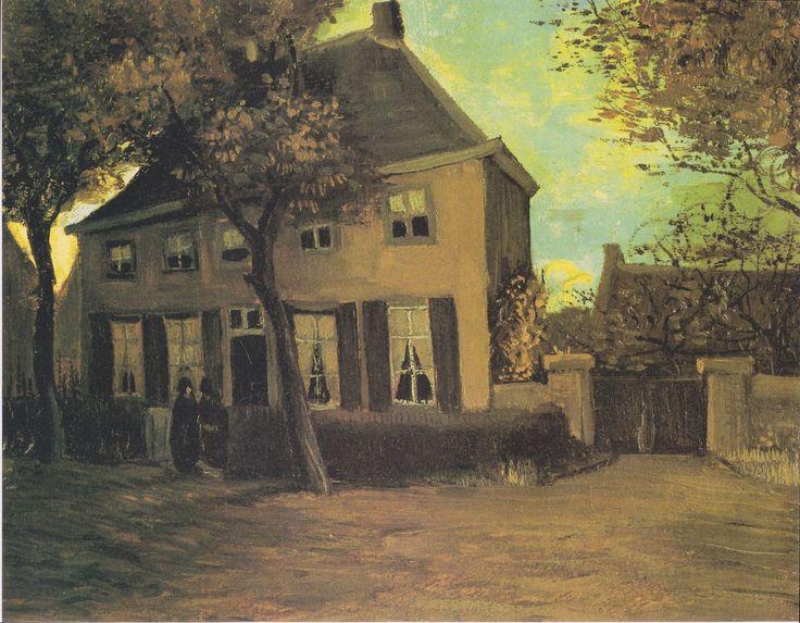 Van Gogh - Das Pfarrhaus in Nuenen, 1885