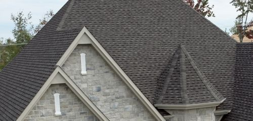 HOUSE Mystique Slate Grey-asphalt roofing shingles reviews