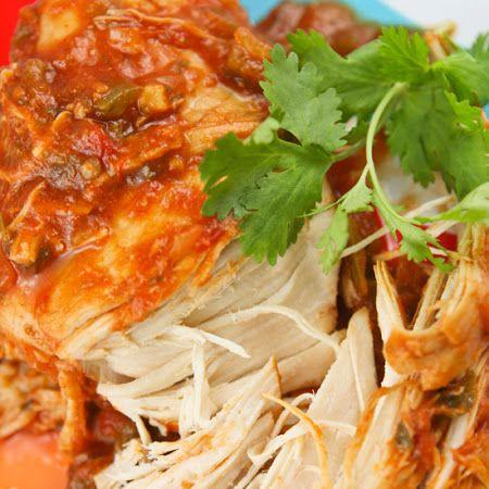 Cilantro Lime Chicken - Crockpot