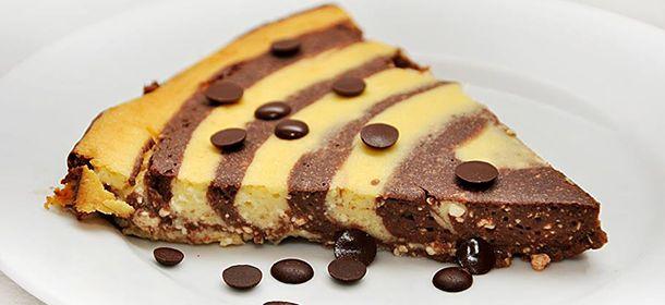 Dietní tvarohový koláč