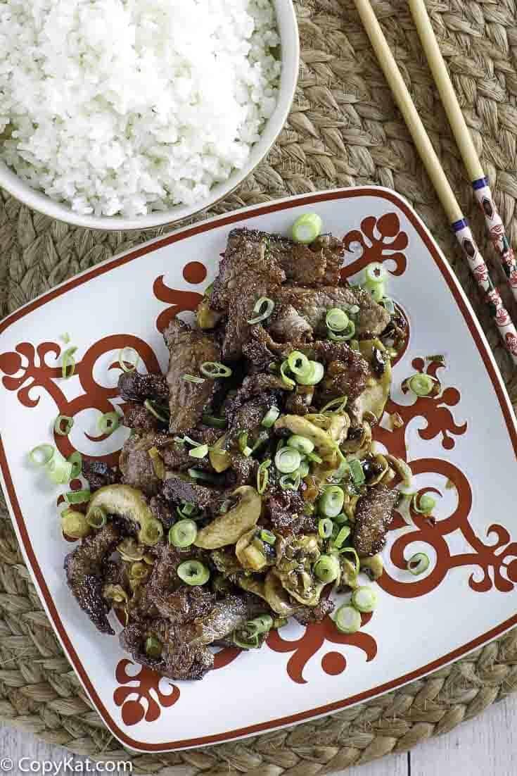 Mongolian Beef Recipe Beef Recipes Beef Mongolian Beef