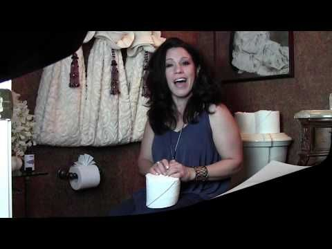 Renee Romeo - The 3 Best Toilet Paper Origami Ideas - YouTube