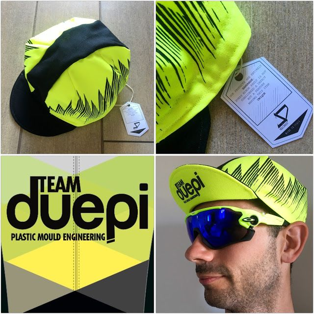 Team DuePi: Team DuePi Cycling Caps by Velo Dust