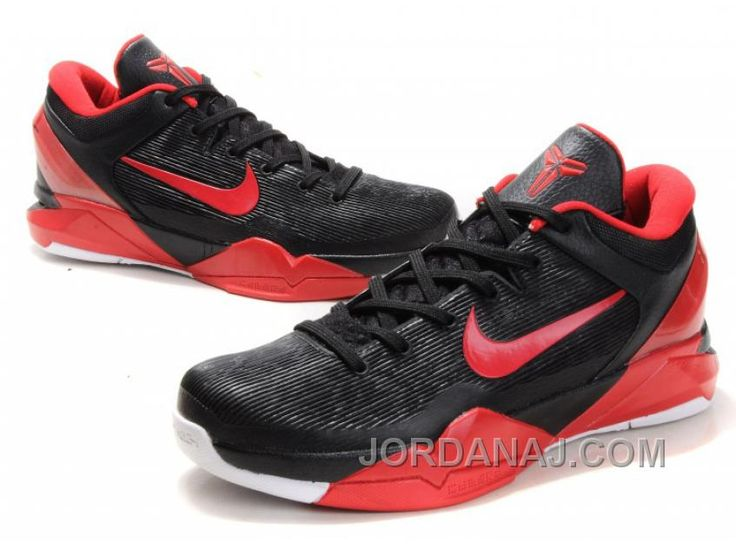 Nike Zoom Kobe 7 VII Black/Varsity Red/White, cheap Nike Zoom Kobe If you  want to look Nike Zoom Kobe 7 VII Black/Varsity Red/White, you can view the  Nike ...