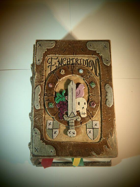 Adventure Time Enchiridion Deck Card Box Custom MTG EDH or Tarot case via Etsy