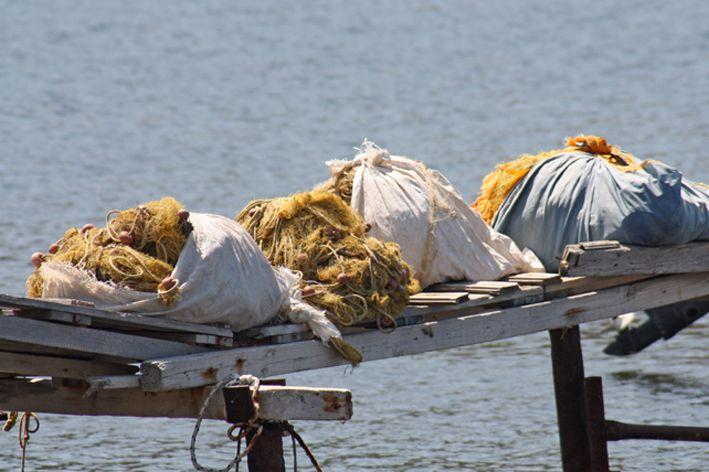 Fishing nets   Lesvos - Greece  - 2013