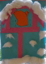 Vogelhuisje in de sneeuw - Knutselen!
