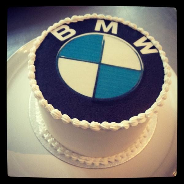 BMW cake  If anyone wants to give this a whirl for my 40th ... XD