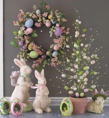RAZ Vintage Easter Egg Tree