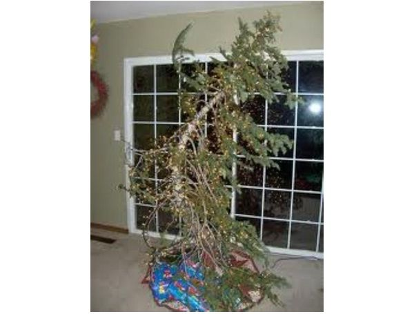 Leaning Tree-Worst Christmas Decorations Ever