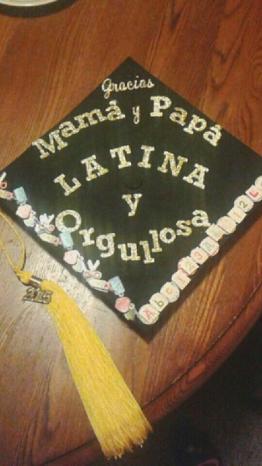 Latina pride! college graduation cap | Inspiring Ideas ...