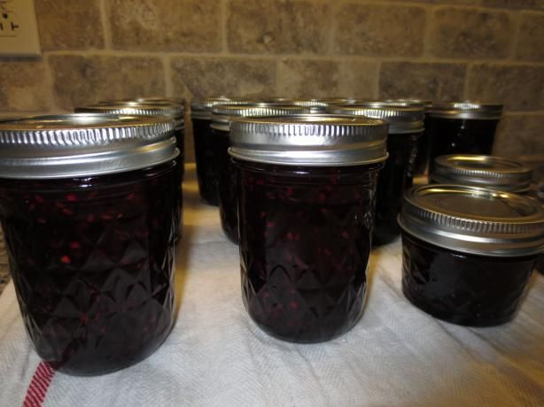 Homemade Blackberry Jam(found on internet, try this one first) 7-10-13