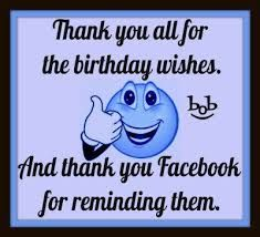 Afbeeldingsresultaat voor HOW TO SAY THANK YOU TO YOUR FRIENDS FOR BIRTHDAY WISHES ON FACEBOOK