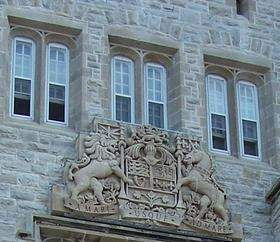 Currie Hall, Royal Military College of Canada, Kingston, Ontario, Canada