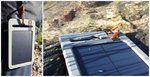 Ecco il caricabatterie antiurto che non ha paura dell'acqua: Yu - Waterproof Solar Charger. Sempre con te, come il sole!