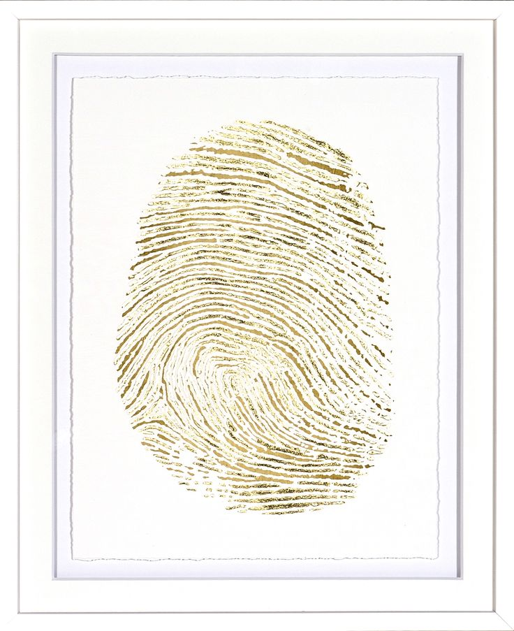 Gold Finger Print III