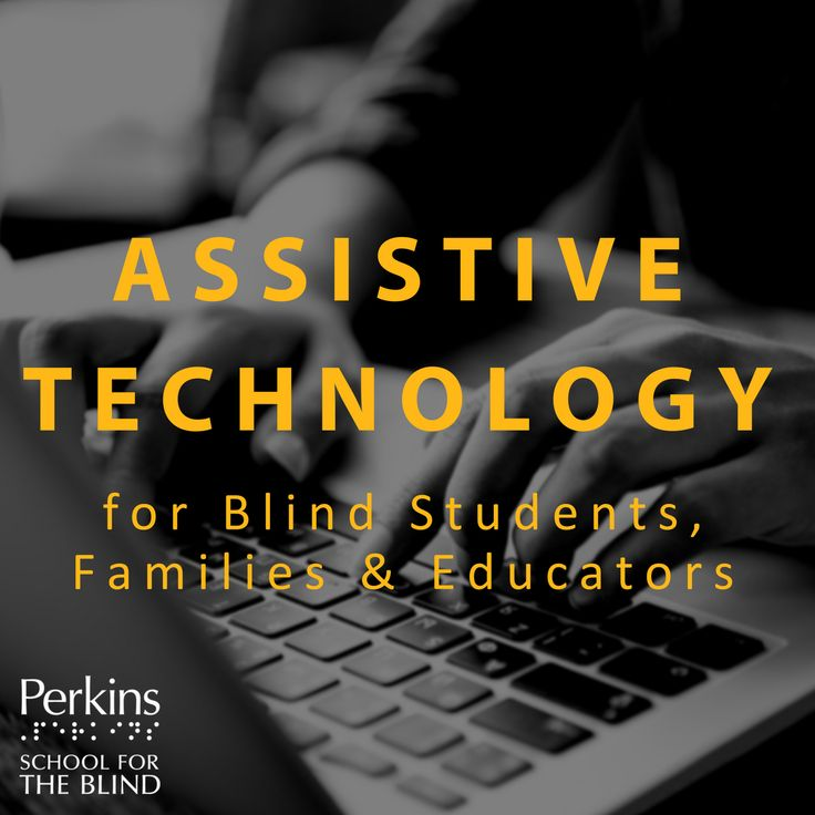 Assistive Technology for educators, families, and students can share information about technology for students with visual impairments and blindness. Topics include refreshable braille devices, VoiceOver on iPads and iPhones, screen readers, switches, and more accessibility concerns. Paths To Technology is available for students, s and TVIs, assistive technology specialists and others to share your ideas & ask questions. Join the community today: http://www.perkinselearning.org/technology