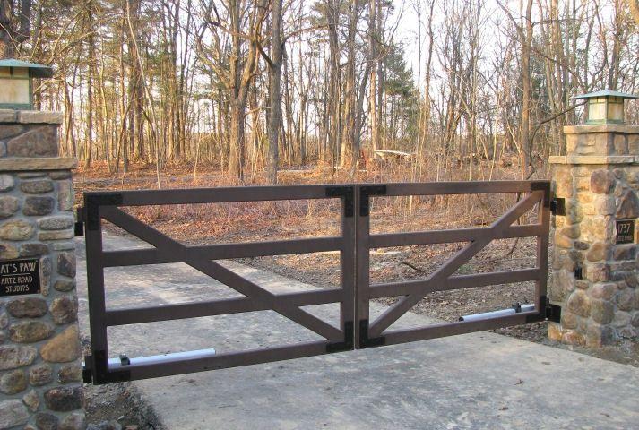 Farm Driveway Gates | Emerald Ironworks~Driveway Gate Systems