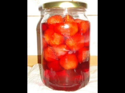 STEWED STRAWBERRIES - english subtitles. Kompot truskawkowy – przepisTV  http://youtu.be/1k9bgN6Znac