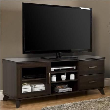 "South Shore Caraco Mocha TV Stand for TVs up to 60"", Walmart.com $245.99"