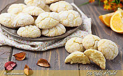 Biscotti all'arancia morbidi ricetta veloce
