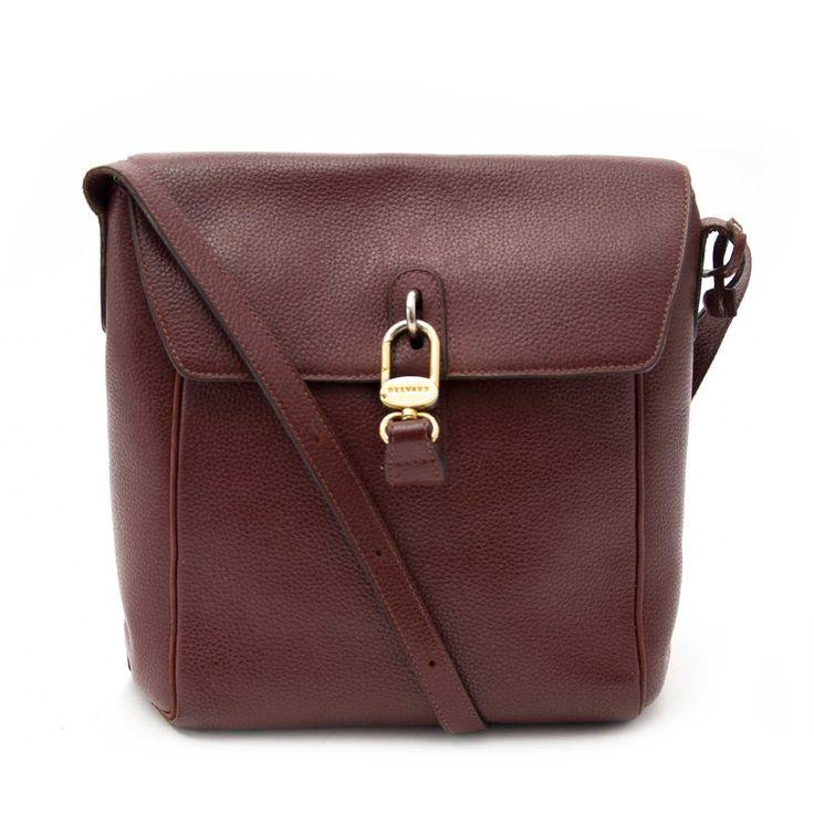 Delvaux Chestnut Brown Shoulder Bag